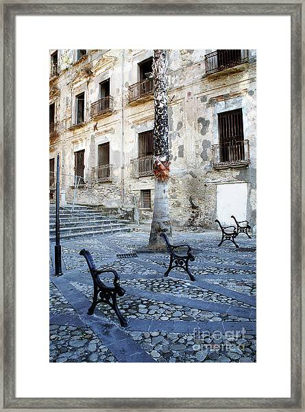 This Is Not A Bench Framed Print