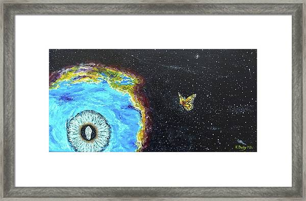 Framed Print featuring the painting This Is Where... by Kevin Daly