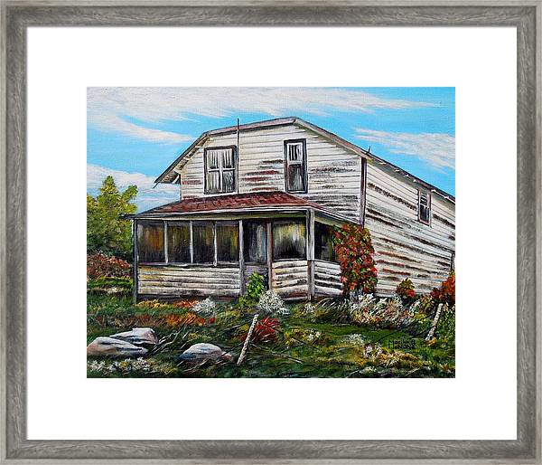 This Old House 2 Framed Print