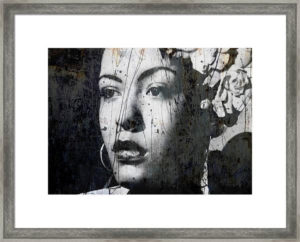 This Ole Devil Called Love  Framed Print
