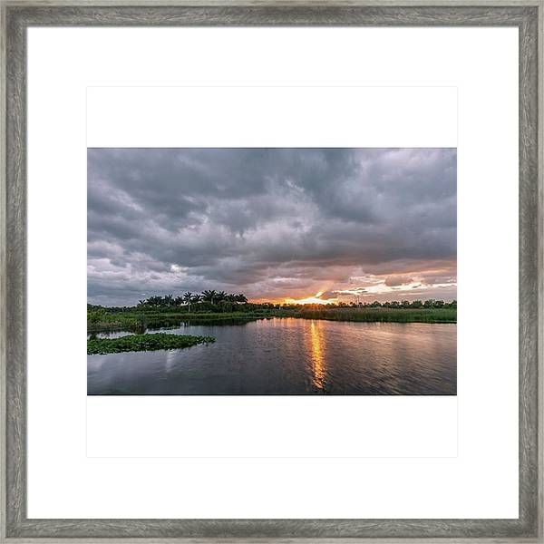 This Photograph Was Taken In The Framed Print