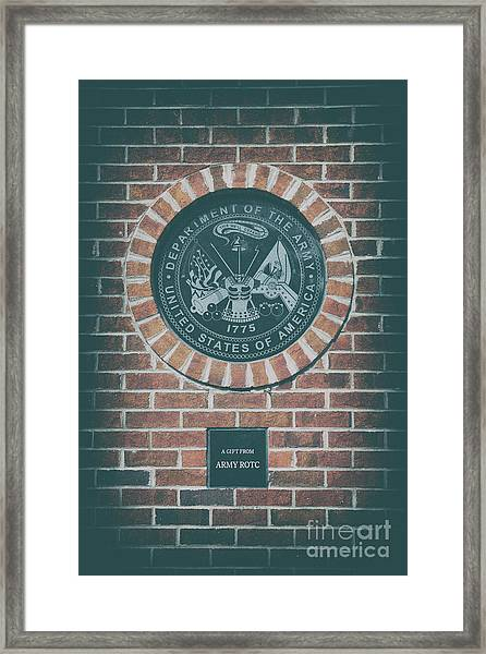 This We'll Defend Framed Print