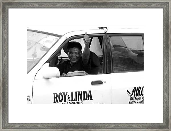 This Will Be Roy Then Framed Print by Jez C Self