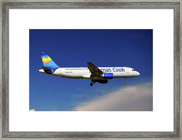 Thomas Cook Airlines Airbus A320-214 Framed Print