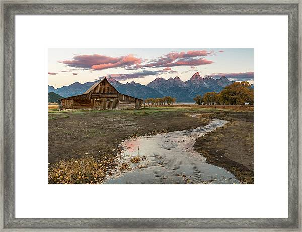 Thomas Moulton's Barn Framed Print