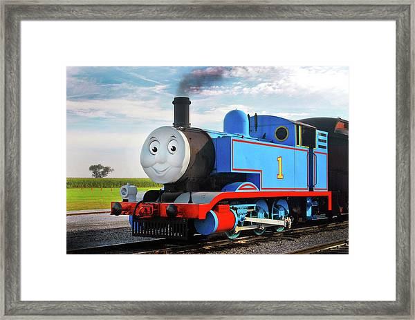 Thomas The Train Framed Print