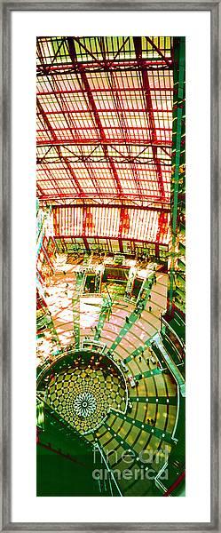 Thompson Center Framed Print