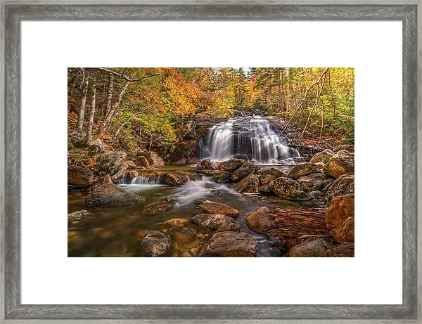 Thompson Falls Framed Print