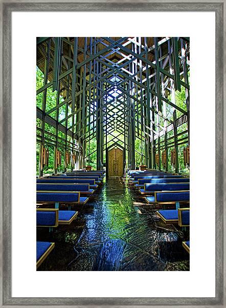 Thorncrown Chapel Serenity Framed Print