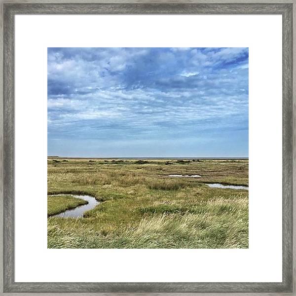 Thornham Marshes, Norfolk Framed Print