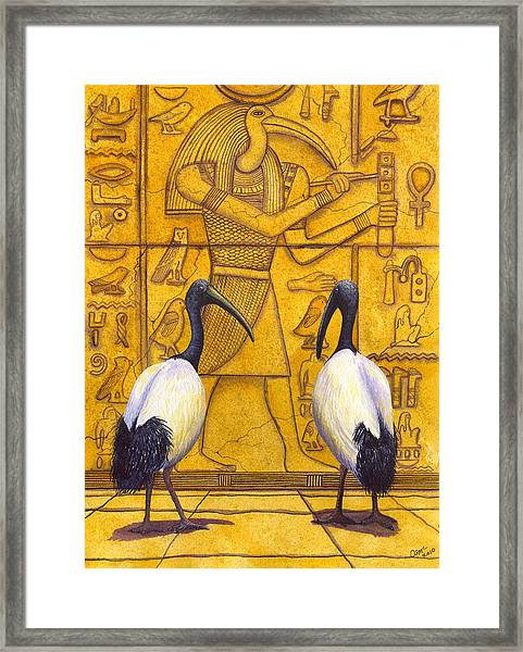 Thoth Framed Print