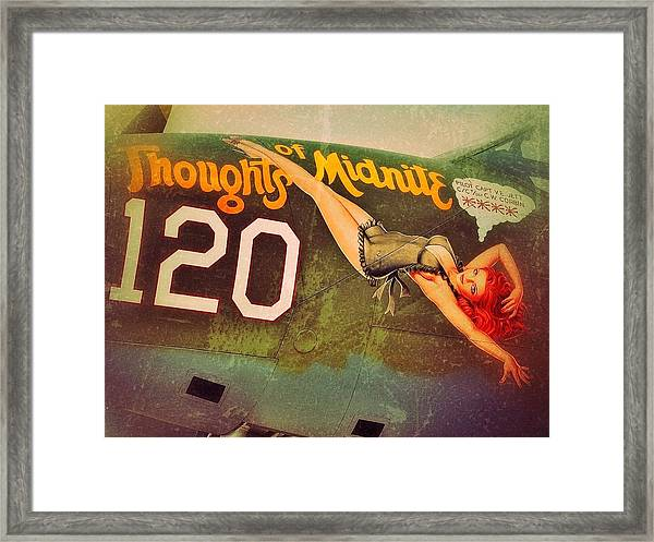 Thoughts Of Midnite Framed Print