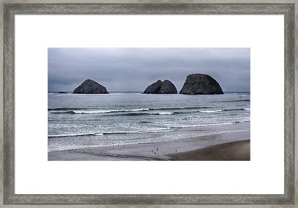Three Arches Framed Print