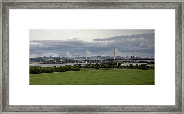 Three Bridges Over The Forth Framed Print