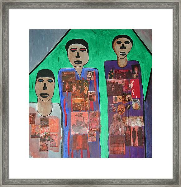 Three Brothers Framed Print by Russell Simmons