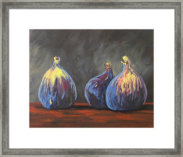 Three Figs Framed Print