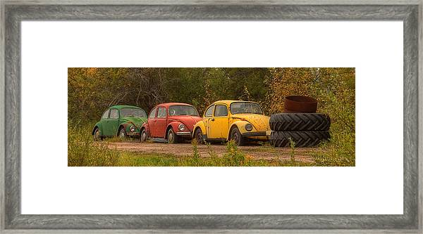 Three For The Road Framed Print