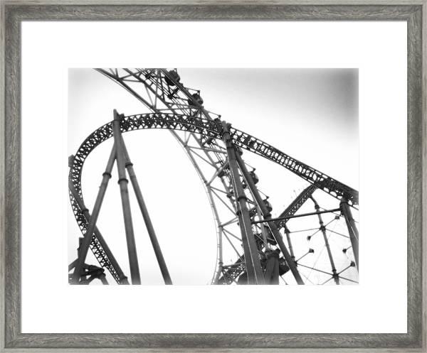 Thrill Framed Print