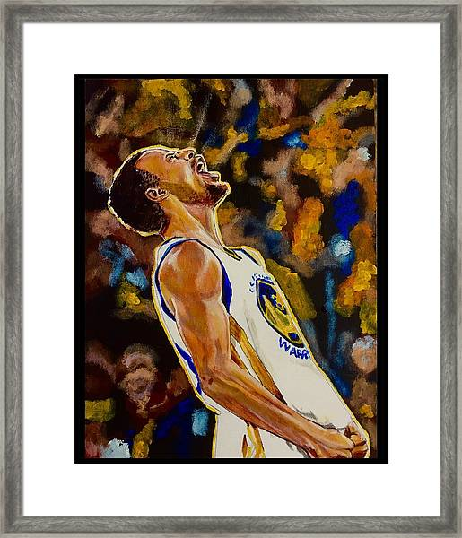 Thrill Of Victory Framed Print