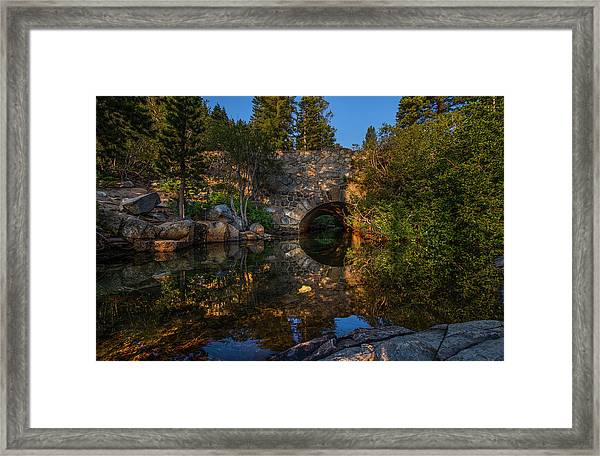 Through The Archway - 1 Framed Print