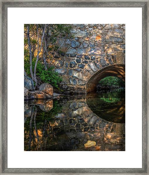 Through The Archway - 2 Framed Print