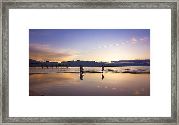 Through The Lens Of A Mother Framed Print