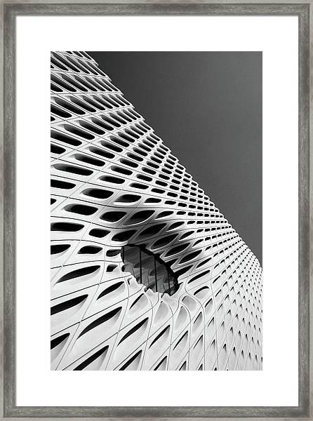 Through The Veil- By Linda Woods Framed Print