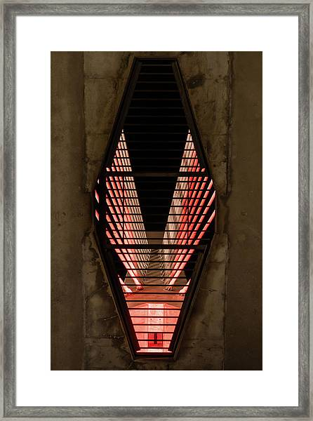Through The Zakim Framed Print