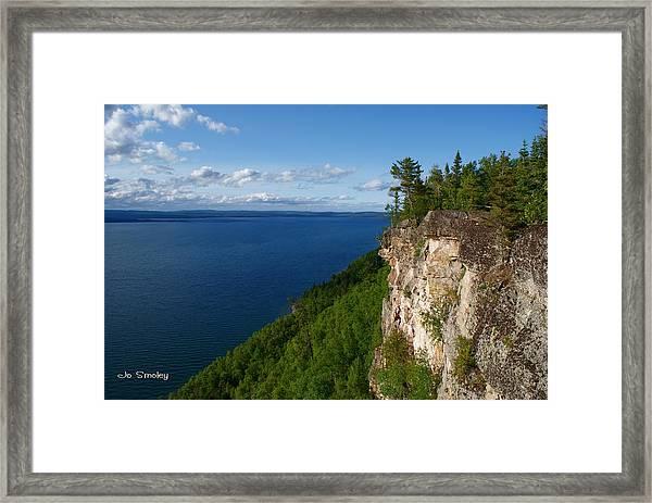 Thunder Bay Lookout Framed Print