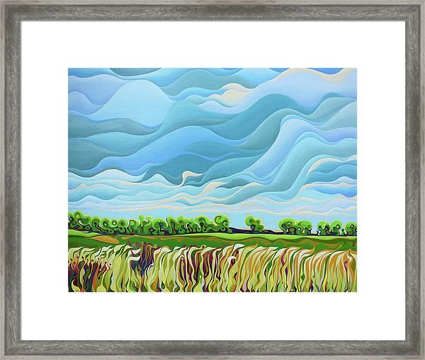 Thunder Sky Framed Print