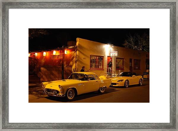 Thunderbird On The Street Framed Print