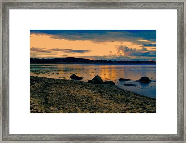 Thuro Beach Framed Print