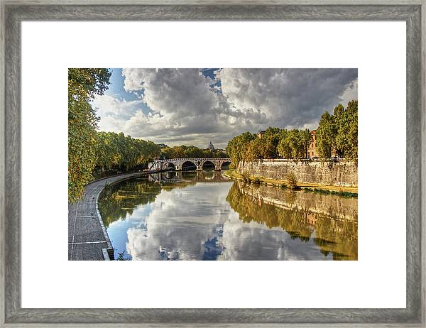 Tiber Morning Framed Print