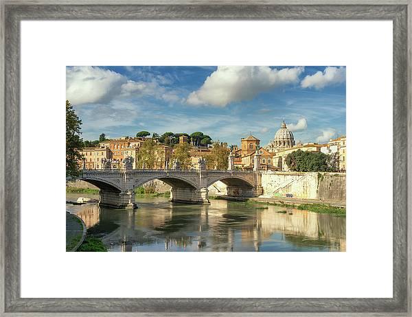 Tiber View Framed Print