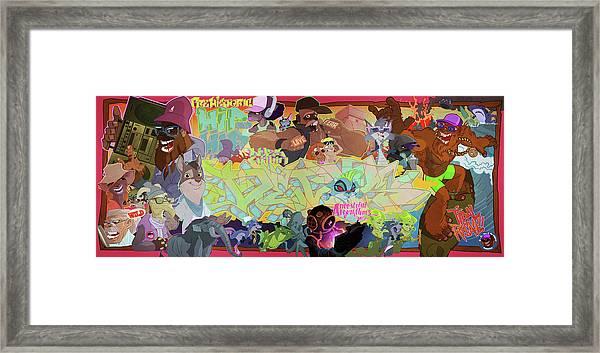 Tidal Recall 2 Framed Print