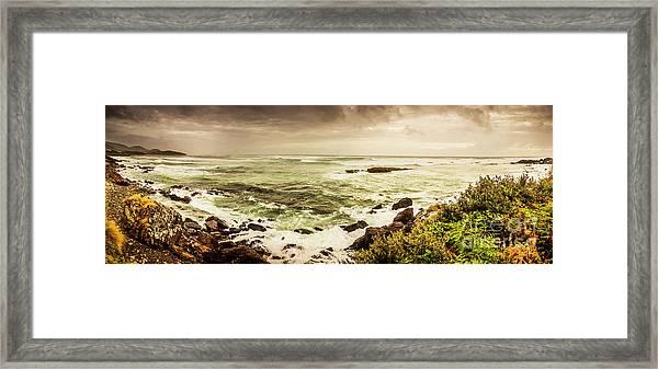 Tidal Vastness Framed Print