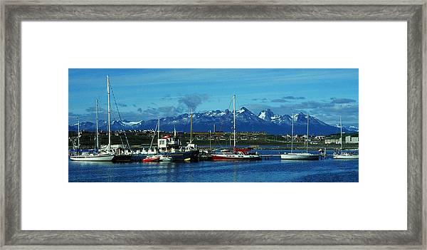 Tierra Del Fuego Framed Print