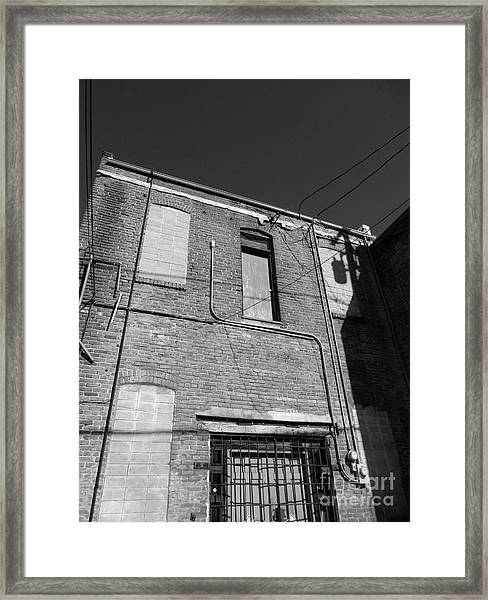 Tightrope My A.. Framed Print