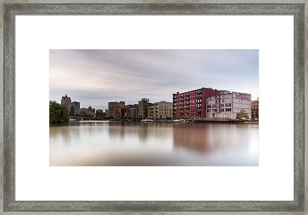 Time Along The Third Ward Framed Print