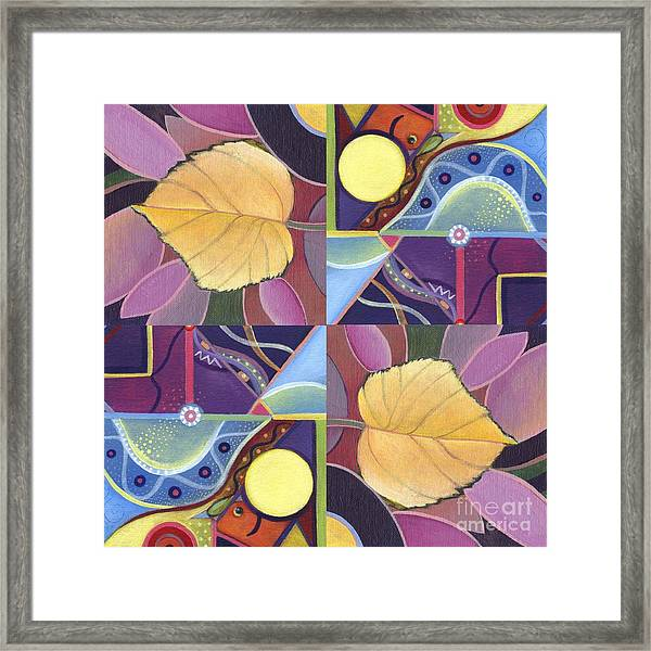 Time Goes By - The Joy Of Design Series Arrangement Framed Print