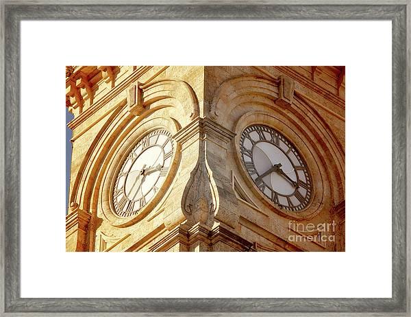 Time On My Side Framed Print