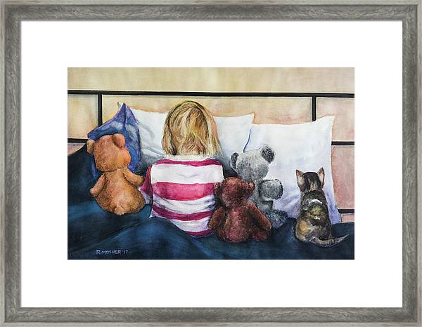Time Out With My Friends Framed Print