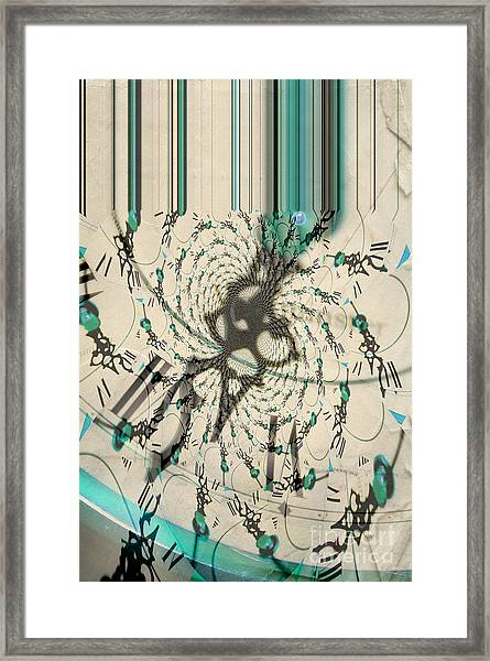 Time Ticking To The New Year Framed Print
