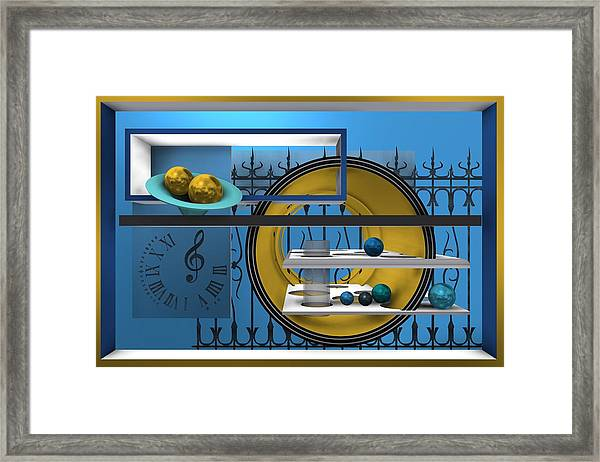 Time To Night Song Framed Print