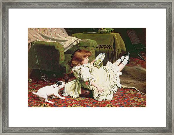Time To Play Framed Print