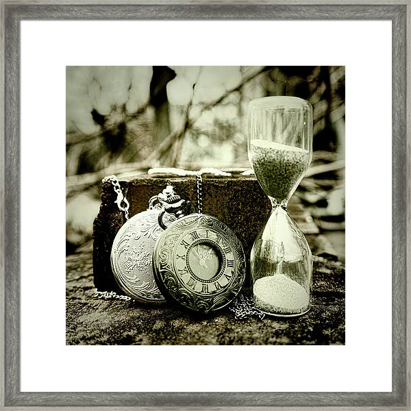 Time Tools Framed Print