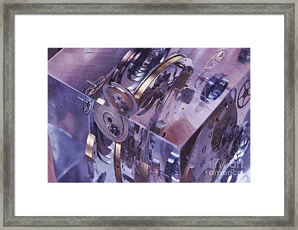 Time Trapped Framed Print