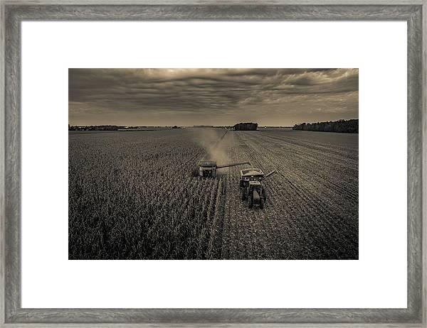 Timeless Farm Framed Print
