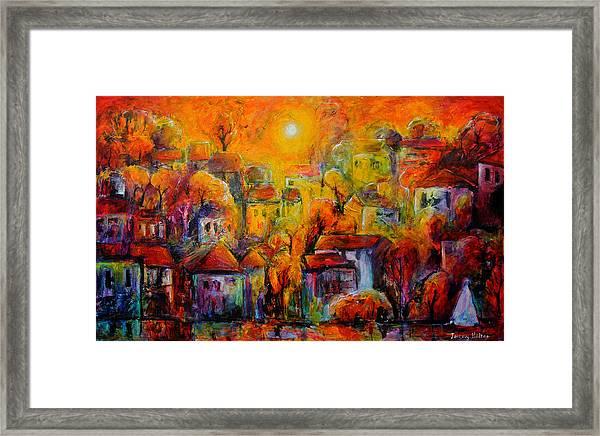 Timeless Paradise Framed Print