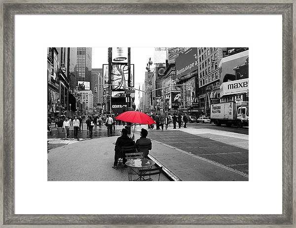 Times Square 5 Framed Print